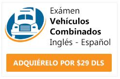 examen cdl vehículos combinados ingles y español