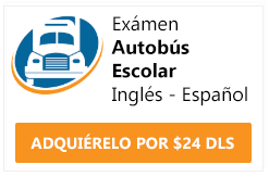 examen cdl endorsement autobus escolar