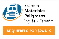 examen cdl endorsement materiales peligrosos