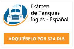 examen cdl endorsement tanques ingles y español