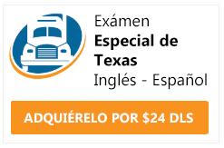 examen cdl especial de texas ingles y español