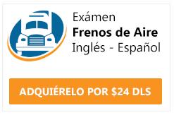 examen cdl frenos de aire ingles y español